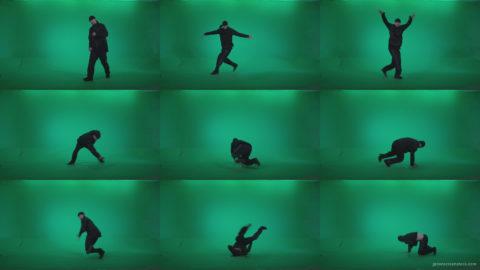 B-Boy-Break-Dance-b10 Green Screen Stock