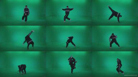 B-Boy-Break-Dance-b11 Green Screen Stock