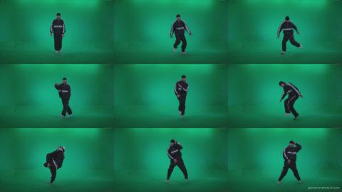 B-Boy-Break-Dance-b13 Green Screen Stock