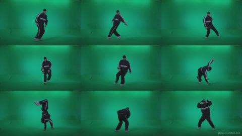 B-Boy-Break-Dance-b14 Green Screen Stock