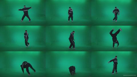 B-Boy-Break-Dance-b15 Green Screen Stock