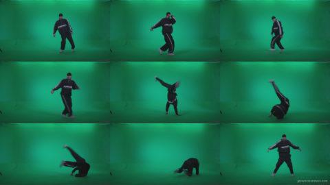 B-Boy-Break-Dance-b18 Green Screen Stock
