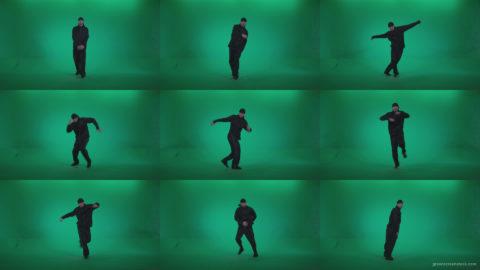 B-Boy-Break-Dance-b2 Green Screen Stock