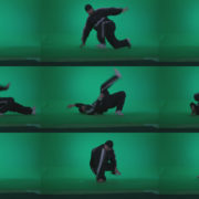 B-Boy-Break-Dance-b22 Green Screen Stock