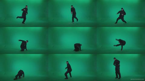 B-Boy-Break-Dance-b3 Green Screen Stock