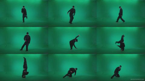 B-Boy-Break-Dance-b5 Green Screen Stock