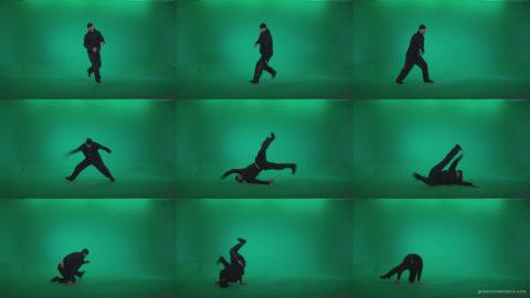 B-Boy-Break-Dance-b7 Green Screen Stock