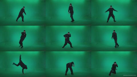 B-Boy-Break-Dance-b8 Green Screen Stock