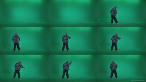 Bad-Boy-Spraying-Graffiti-z1 Green Screen Stock