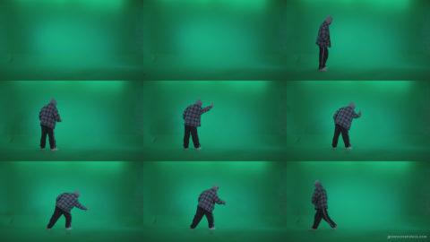 Bad-Boy-Spraying-Graffiti-z2-Green-Screen-Video-Footage Green Screen Stock