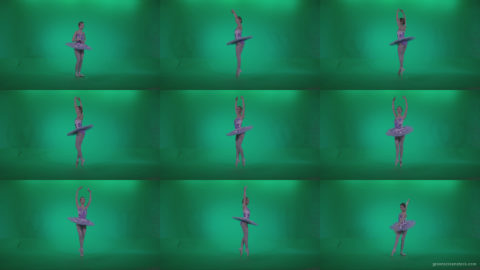 Ballet-Purple-Costume-p1 Green Screen Stock