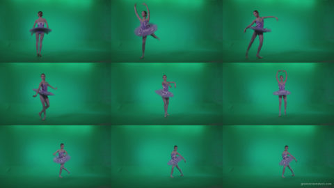 Ballet-Purple-Costume-p10-Green-Screen-Video-Footage Green Screen Stock