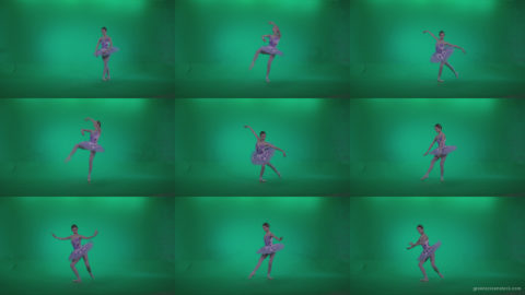 Ballet-Purple-Costume-p11-Green-Screen-Video-Footage Green Screen Stock