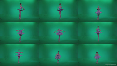 Ballet-Purple-Costume-p15-Green-Screen-Video-Footage Green Screen Stock