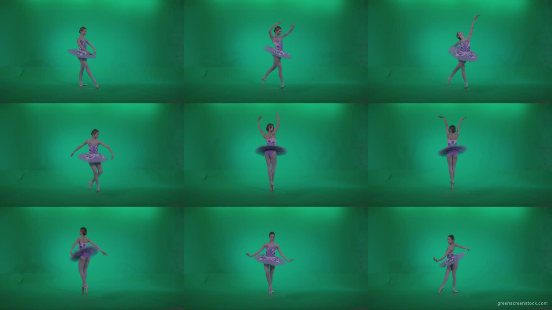 Ballet-Purple-Costume-p2 Green Screen Stock