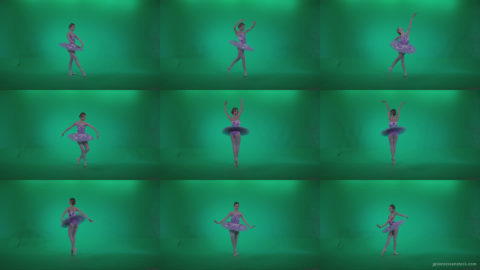 Ballet-Purple-Costume-p2 Green Screen Stock