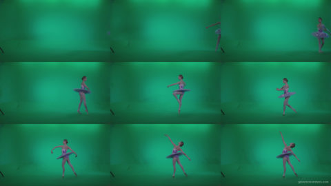 Ballet-Purple-Costume-p6-Green-Screen-Video-Footage Green Screen Stock