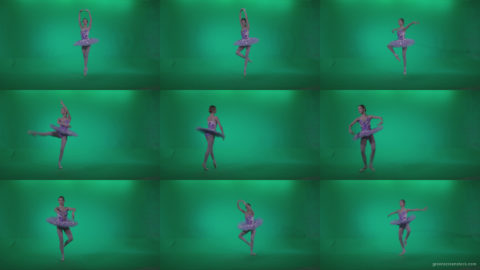 Ballet-Purple-Costume-p9-Green-Screen-Video-Footage Green Screen Stock