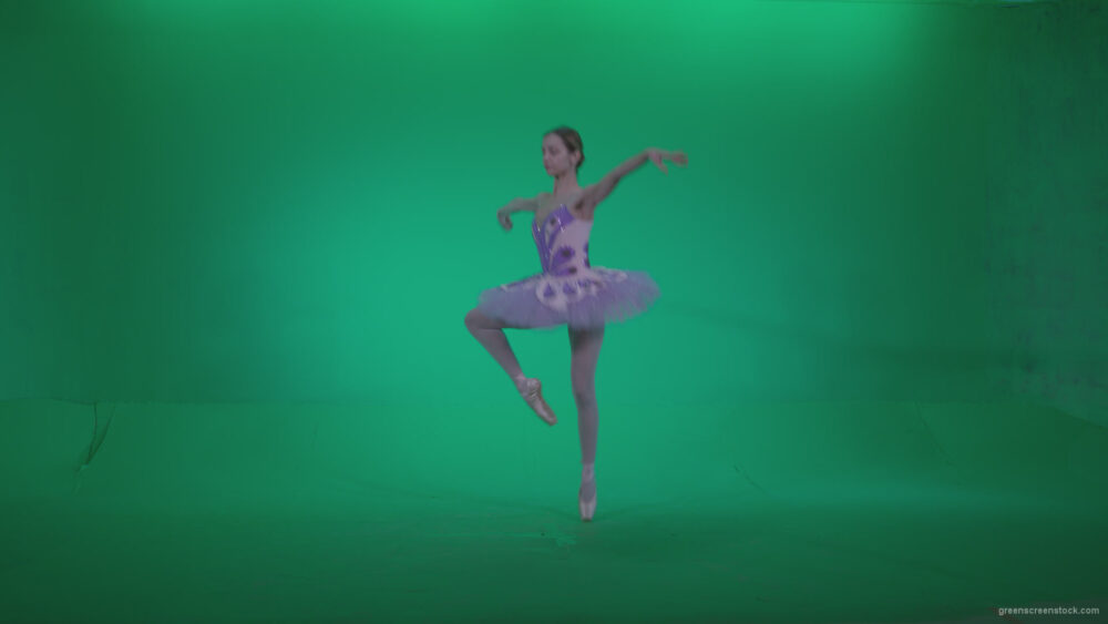 vj video background Ballet-Purple-Costume-p9-Green-Screen-Video-Footage_003