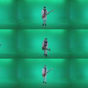 Bass-Jazz-Performer-2 Green Screen Stock