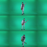 Bass-Jazz-Performer-4 Green Screen Stock