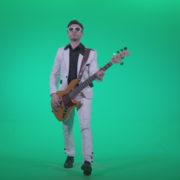 Bass-Jazz-Performer-4_007 Green Screen Stock
