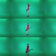 Bass-Jazz-Performer-5-Green-Screen-Video-Footage Green Screen Stock