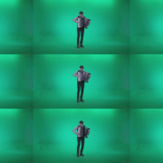 Black-Accordion-Virtuoso-performs-1 Green Screen Stock