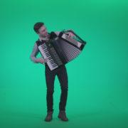 Black-Accordion-Virtuoso-performs-2_005 Green Screen Stock