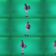 Black-Accordion-Virtuoso-performs-ba10-Green-Screen-Video-Footage Green Screen Stock
