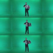 Black-Accordion-Virtuoso-performs-ba11-Green-Screen-Video-Footage Green Screen Stock