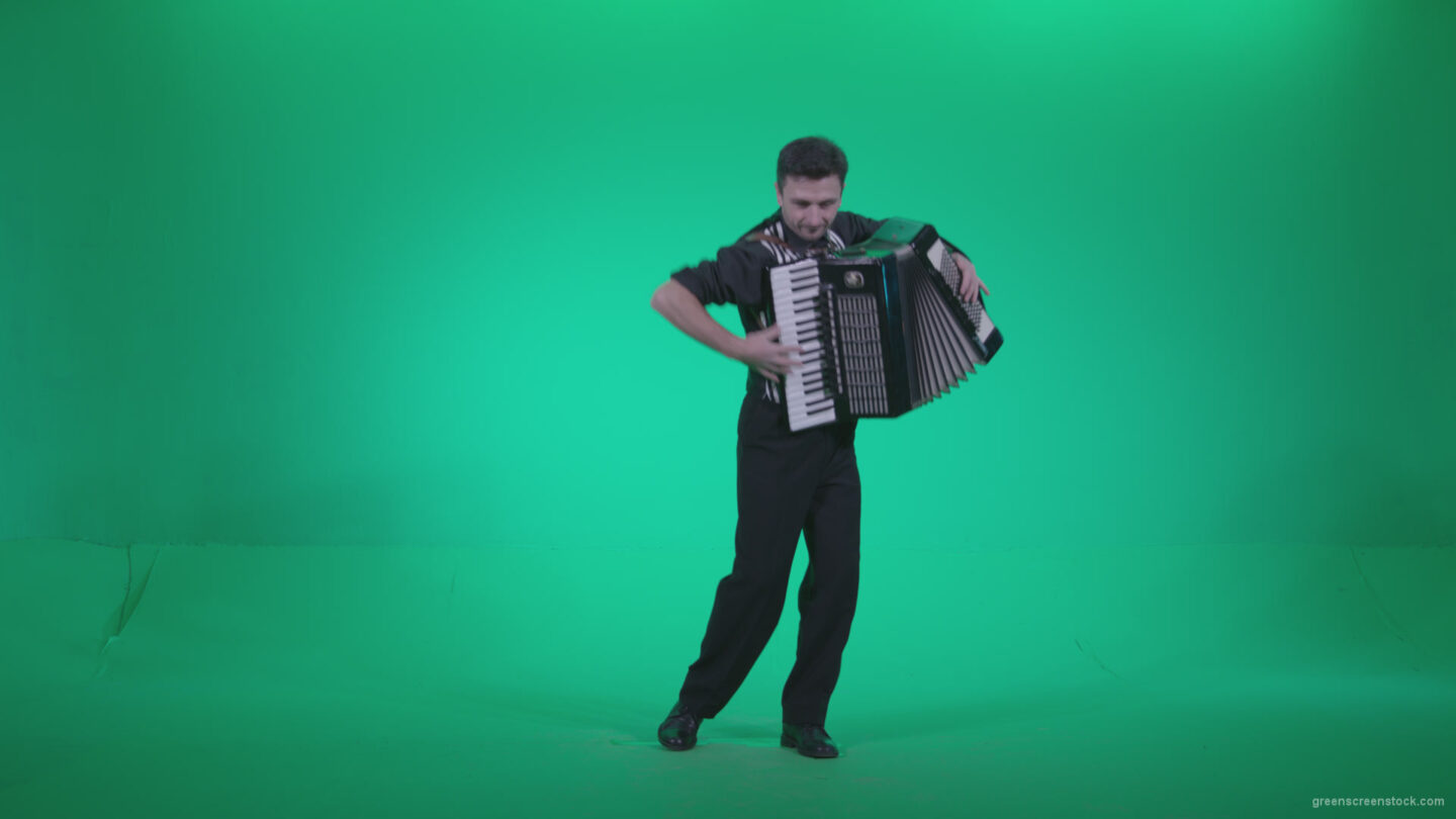 vj video background Black-Accordion-Virtuoso-performs-ba11-Green-Screen-Video-Footage_003