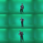 Black-Accordion-Virtuoso-performs-ba12-Green-Screen-Video-Footage Green Screen Stock
