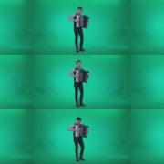 Black-Accordion-Virtuoso-performs-ba4 Green Screen Stock