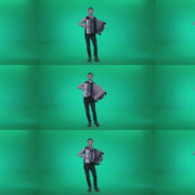 Black-Accordion-Virtuoso-performs-ba5-Green-Screen-Video-Footage Green Screen Stock