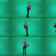 Black-Accordion-Virtuoso-performs-ba6-Green-Screen-Video-Footage Green Screen Stock