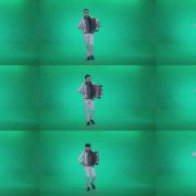Black-Accordion-Virtuoso-performs-ba8-Green-Screen-Video-Footage Green Screen Stock