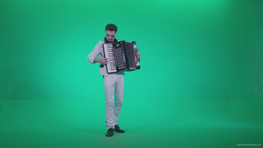 vj video background Black-Accordion-Virtuoso-performs-ba8-Green-Screen-Video-Footage_003