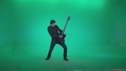 vj video background Black-Guitarist-Playhard-Z4_003