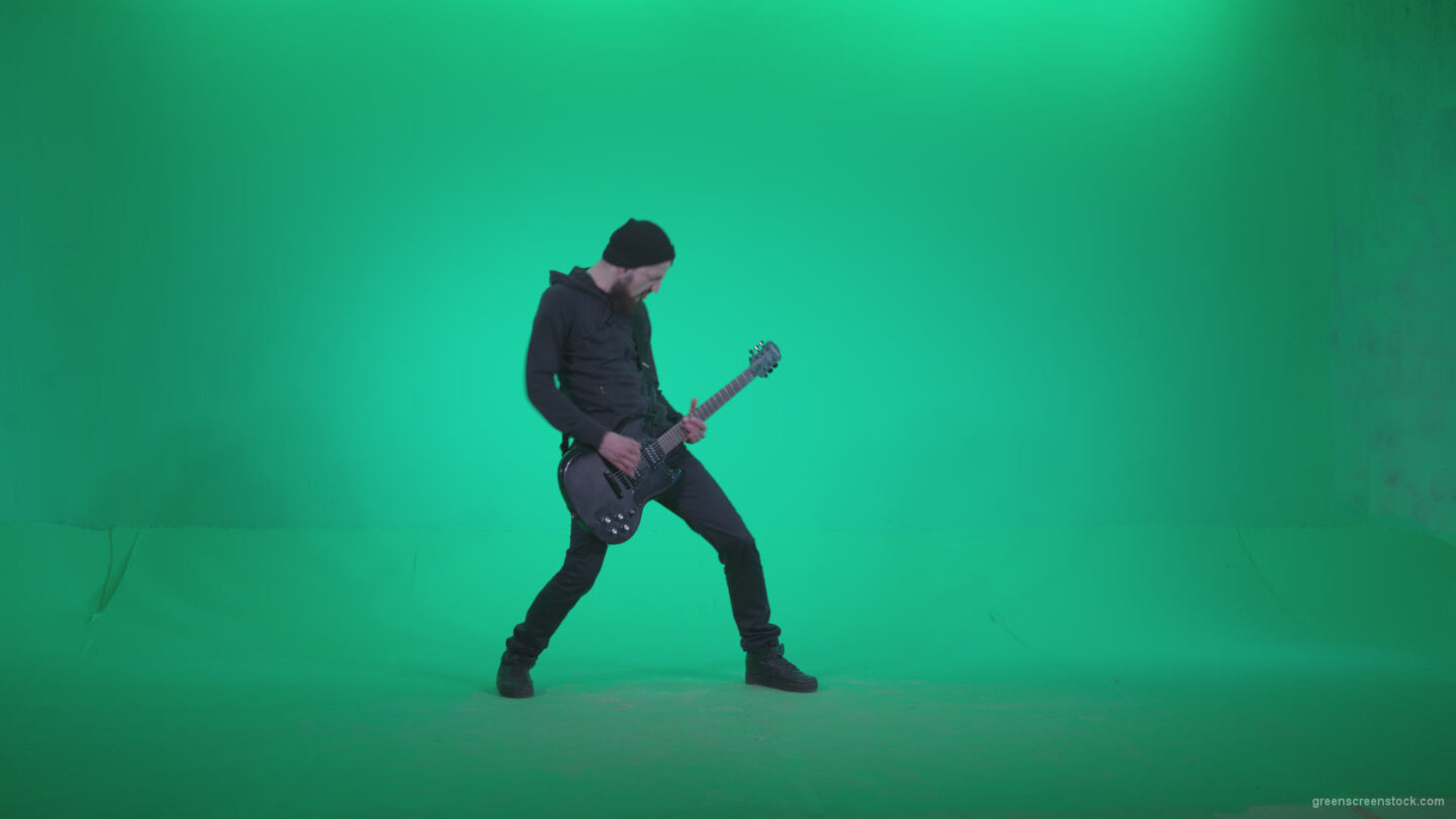 vj video background Black-Guitarist-Z1_003