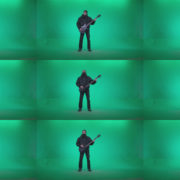 Death-Metal-Guitarist-zt2 Green Screen Stock