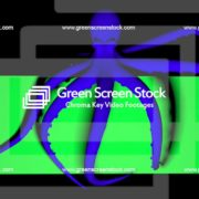 Double-Octopus-Perspective-UHD-60fps-LIMEART_006 Green Screen Stock