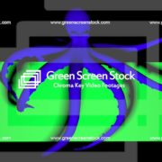 Double-Octopus-Perspective-UHD-60fps-LIMEART_008 Green Screen Stock