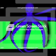 Double-Octopus-Perspective-UHD-60fps-LIMEART_009 Green Screen Stock