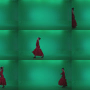Flamenco-Red-Dress-rd10-Green-Screen-Video-Footage Green Screen Stock
