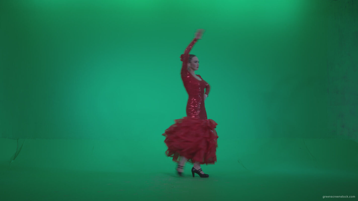 vj video background Flamenco-Red-Dress-rd4_003