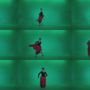 Flamenco-Red-and-Black-Dress-rb5-Green-Screen-Video-Footage Green Screen Stock