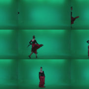 Flamenco-Red-and-Black-Dress-rb7-Green-Screen-Video-Footage Green Screen Stock