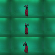 Flamenco-Red-and-Black-Dress-rb9-Green-Screen-Video-Footage Green Screen Stock