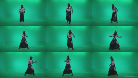 Go-go-Dancer-Assassin-g1 Green Screen Stock